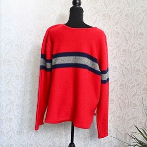 Vintage Guess jeans Lambs wool blend red sweater